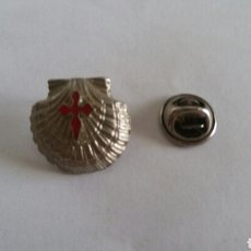 Pin's de collection: PIN TURISMO CONCGA COMPOSTELANA CAMINO SANTIAGO GALICIA. Lote 127438219