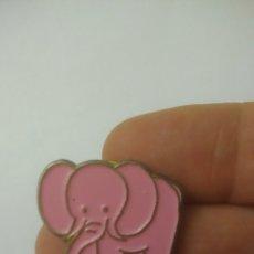 Pins de colección: ELEFANTE ROSA. PIN. A ESTRENAR. Lote 128675526