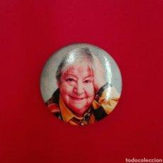 Pins de colección: CHAPA DE IMPERDIBLE DE GLORIA FUERTES. Lote 183670965