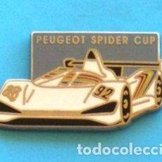 Pins de colección: PIN PEUGEOT SPIDER CUP. Lote 131076728