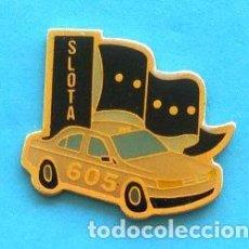 Pins de colección: PIN PEUGEOT 605. Lote 131076748