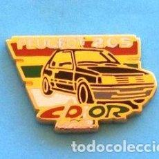 Pins de colección: PIN PEUGEOT 205. Lote 131076788