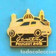 Pins de colección: PIN PEUGEOT 205. Lote 131076792