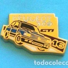 Pins de colección: PIN PEUGEOT 309 GTI 16. Lote 131076816