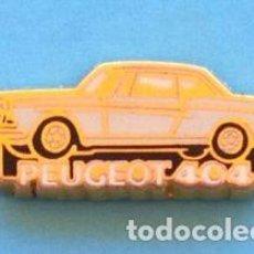Pins de colección: PIN PEUGEOT 404. Lote 131076824