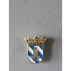 Pins de colección: PIN ESCUDO FIGUEROLES (CASTELLÓN) . Lote 131098012
