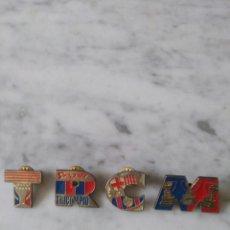 Pins de colección: LOTE 4 PINS FC. BARCELONA. Lote 132489963