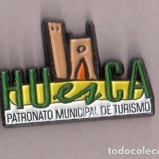 Pins de colección: BONITO PINS DE PUBLICIDAD DE HUESCA VER FOTO ADICIONAL . Lote 133013986