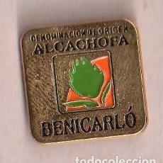 Pins de colección: BONITO PINS DE PUBLICIDAD DE BENICARLÓ VER FOTO ADICIONAL . Lote 133014662