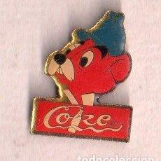 Pins de colección: BONITO PINS DE PUBLICIDAD DE COKE VER FOTO ADICIONAL . Lote 133015922