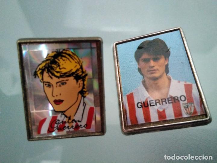 2 PINS JULEN GUERRERO (ATLETIC BILBAO) (UNO CON PUA PARTIDA) (Coleccionismo - Pins)