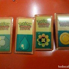 Pins de colección: 4 PINES - PIN - POKEMON TRADING CARD GAME LEAGUE - NINTENDO - WIZARDS. Lote 133573834