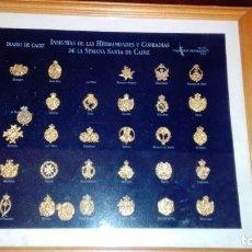 Pins de colección: INSIGNIAS DE LAS HERMANDADES Y COFRADIAS DE LA SEMANA SANTA DE CADIZ. Lote 134788518