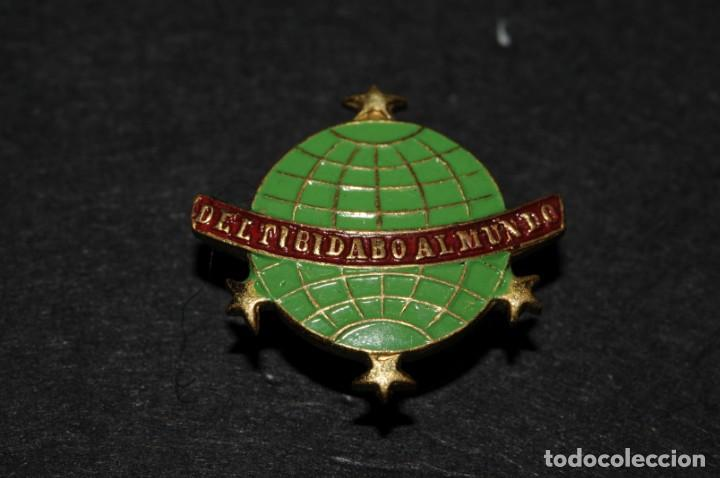 Del Tibidabo Al Mundo Insignia De Solapa Orig Kaufen Alte Pins