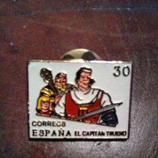 Pins de colección: PIN PERSONAJE COMIC CAPITAN TRUENO. Lote 135457438