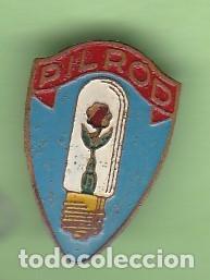 ANTIGUO PIN DE AGUJA DE PUBLICIDAD DE BOMBILLAS PILROD (Coleccionismo - Pins)