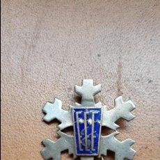 Pins de colección: ANTIGUO PIN SKY. ESQUI. BAQUEIRA BERET ESTACION SKI???? 3 CM . Lote 136036514
