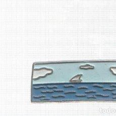 Pins de colección: PINS: EL MEDITERRANEO - COMARCAS DE CATALUÑA, COLECCIONABLE CATALUÑA MODERNA - EL PAIS. Lote 136670302