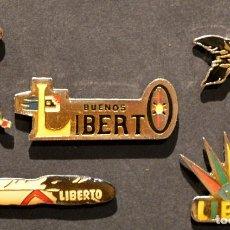 Pins de colección: COLECCION 5 PINS PIN EDICION LIMITADA DE LIBERTO. Lote 137454922