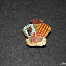 Pins de colección: INSIGNIA - PIN DE IMPERDIBLE - CLUB DE FUTBOL BARCELONA - MONTSERRAT. Lote 138072534