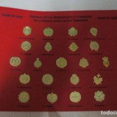 Pins de colección: COLECCION INSIGNIAS HERMANDADES Y COFRADIAS SEMANA SANTA DE SAN FERNANDO CADIZ, PINS. Lote 139137470