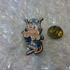Pins de colección: PIN HUGO MASCOTA TELECUPON. Lote 139229464