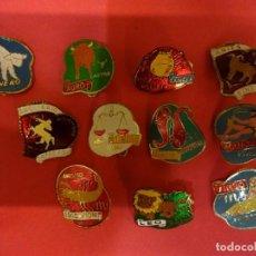 Pins de colección: LOTE DE 11 INSIGNIAS DE HOROSCOPO. ORIGINALES AÑOS 1960S. Lote 139601370