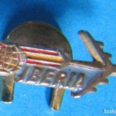 Pins de colección: INSIGNIA PARA OJAL O SOLAPA. LINEAS AÉREAS IBERIA.. Lote 140433854