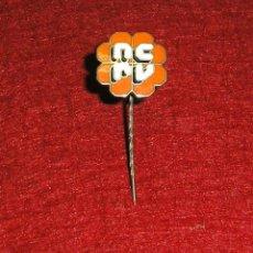 Pins de colección: PIN DE ALFILER - N.C.R.V.EMISORA DE RADIO Y TELEVISION PAISES BAJOS.. Lote 140520894