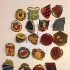 Pins de colección: LOTE PINS FÚTBOL. PSV, LION, BAYER, MUNCHEN, ETC. Lote 140521322