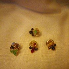 Pins de colección: LOTE DE 4 PINS FLOR DE LIS,TEMPLARIOS.. Lote 140526234