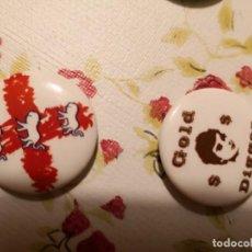 Pins de colección: 2 CHAPAS PINS RETRO. Lote 140656238