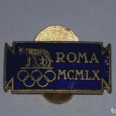 Pins de colección: ANTIGUO PIN ROMA MCMLX JUEGOS OLÍMPICOS 1960 PIEZA RARA!. Lote 141326554