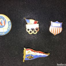 Pins de colección: LOTE DE ANTIGUOS PINS OLÍMPICOS. Lote 142816485