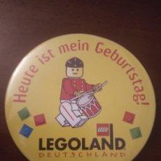 Pins de colección: CHAPA GRANDE DE LEGOLAND. (LEGO, PIN). Lote 143652030