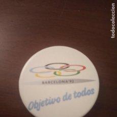 Pins de colección: CHAPA. OLIMPIADAS BARCELONA 1992. (PIN). Lote 143653362
