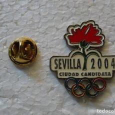 Spille di collezione: PIN DE DEPORTES. JUEGOS OLÍMPICOS SEVILLA 2004. CANDIDATURA OLÍMPICA FALLIDA. Lote 143764814