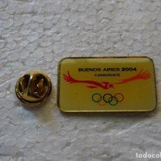 Spille di collezione: PIN DE DEPORTES. JUEGOS OLÍMPICOS BUENOS AIRES 2004 ARGENTINA. CANDIDATURA OLÍMPICA FALLIDA. Lote 143764954