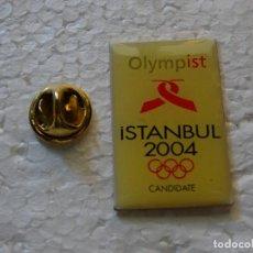 Spille di collezione: PIN DE DEPORTES. JUEGOS OLÍMPICOS ESTAMBUL 2004 TURQUÍA. CANDIDATURA OLÍMPICA FALLIDA. Lote 143764982