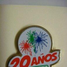 Pins de colección: PINS 20 AÑOS PRYCA.. Lote 143841474
