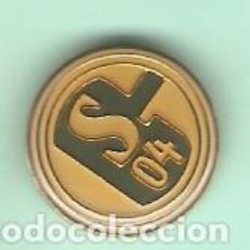 Pins de colección: 1 PIN / PINS - FÚTBOL INTERNACIONAL - F.C. SCHALKE 04 - PIN TIPO PINCHO. Lote 144900442