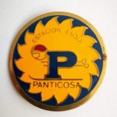 Pins de colección: ANTIGUA INSIGNIA DE PANTICOSA, ESTACION DE ESQUI, MONTAÑISMO, SISTEMA DE IMPERDIBLE, MIDE 3,5 CMS. B. Lote 145542190