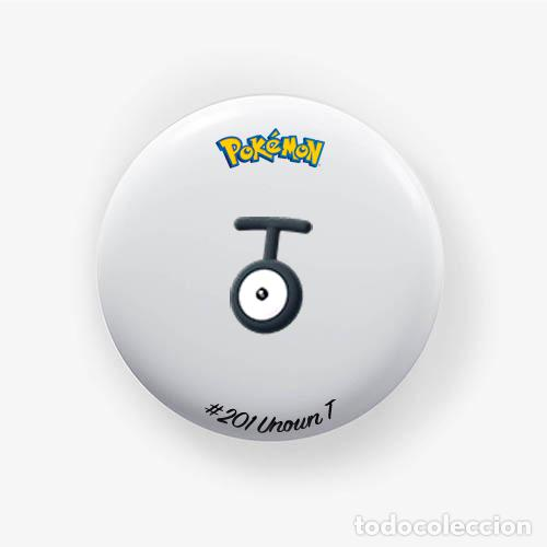 Unown T : Pokemon Go , Pin Chapa Alfiler 1 50 Inch (38mm)