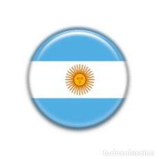 Pins de colección: ARGENTINA : BANDERA NACIONAL, PIN CHAPA ALFILER 1.50 INCH (38MM). Lote 180147917