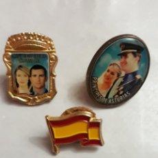 Pins de colección: 7 PIN LOTE REYES DE ESPAÑA. Lote 116200206
