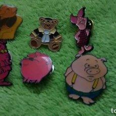 Pins de colección: 6 PIN / PINS - DIBUJOS ANIMADOS - CERDITOS. Lote 147095742