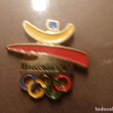 Pins de colección: COLECCION DE 43 PINS COBI BARCELONA 92 ENMARCADA. Lote 147100334