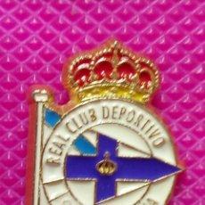 Pins de colección: PIN REAL CLUB DEPORTIVO LA CORUÑA. Lote 147949470