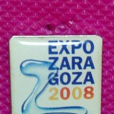 Pins de colección: PIN EXPO ZARAGOZA 2008 . Lote 147949662