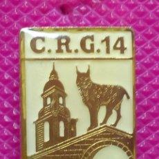 Pins de colección: PIN POLICÍA NACIONAL. COMPAÑÍA DE RESERVA GENERAL. Nº 14 BILBAO . Lote 147949706